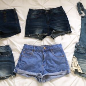 NEED GONE 00 jean shorts lot