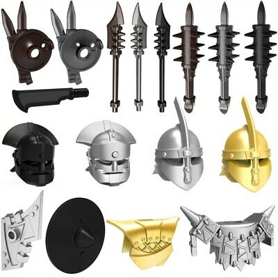 Medieval Weapons Compatible With Minifigures Series 10pcs/lot Rome Knights MOC