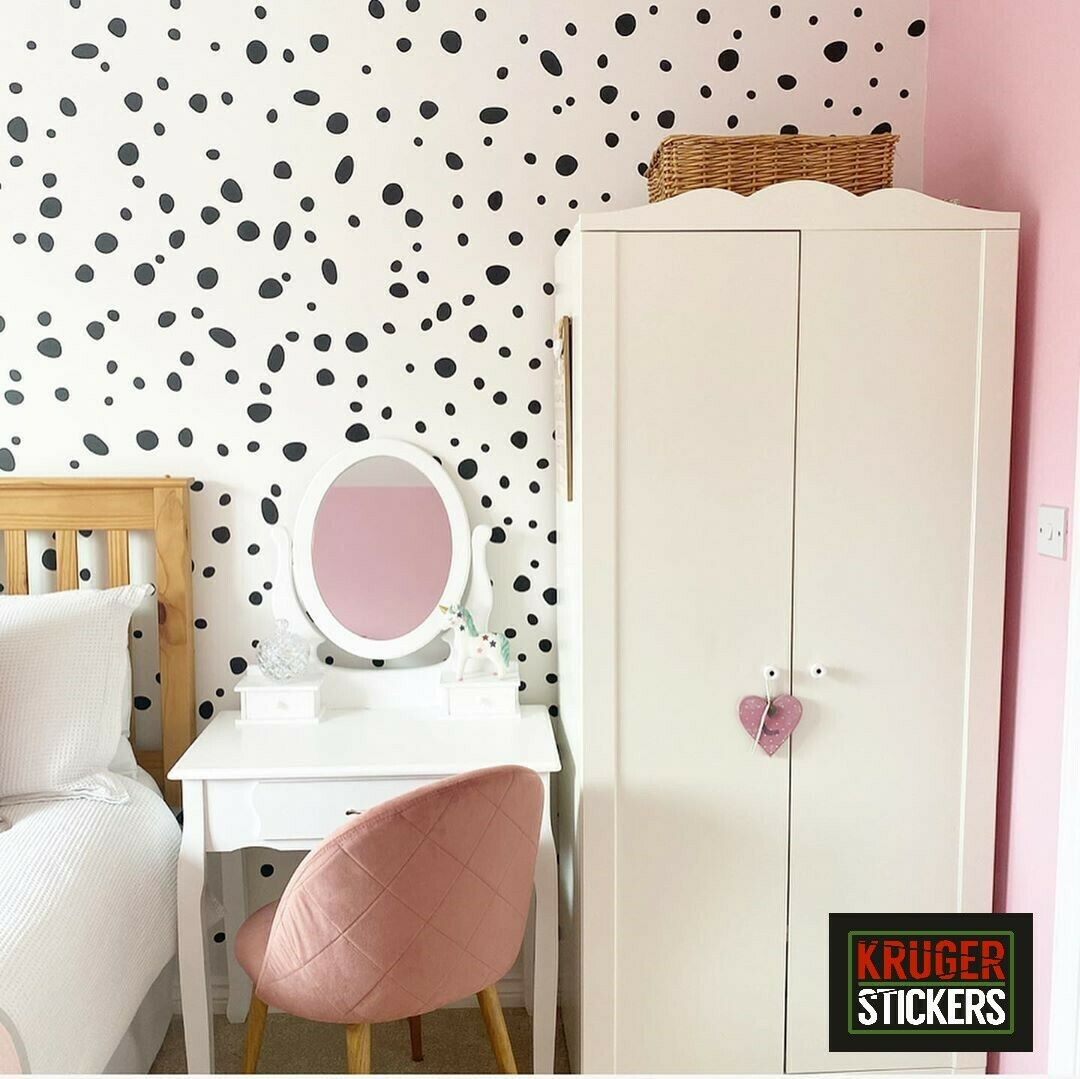Home Decoration - Dalmation Spots Dot Wall Stickers Decal Child Kids Vinyl Art Decor Nursery Home
