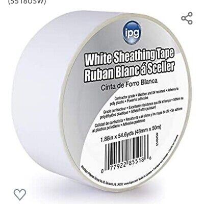 2 Ipg House Wrap Sheathing Tape Building Wrap Visquine Tyvek Seaming 55yd