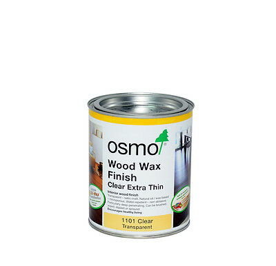 Osmo Wood Wax Clear Extra Thin 1101 Transparent Interior
