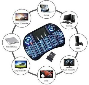 i8 2.4GHz Wireless Keyboard Mini for PC Andriod TV Box Xbox!
