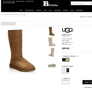 UGGS Chestnut Tall Boot