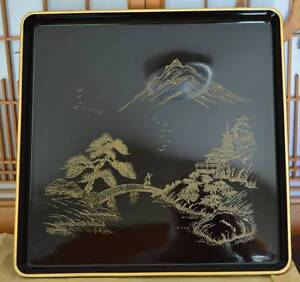 Japanese not Chinese 1930's Vintage Wood Lacquer  Serving Tray Cleveland Redland Area Preview