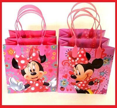 Candy Party Bags ( 12pcs Disney Minnie Mouse Birthday Party Favor Goodie Gift candy Loot)