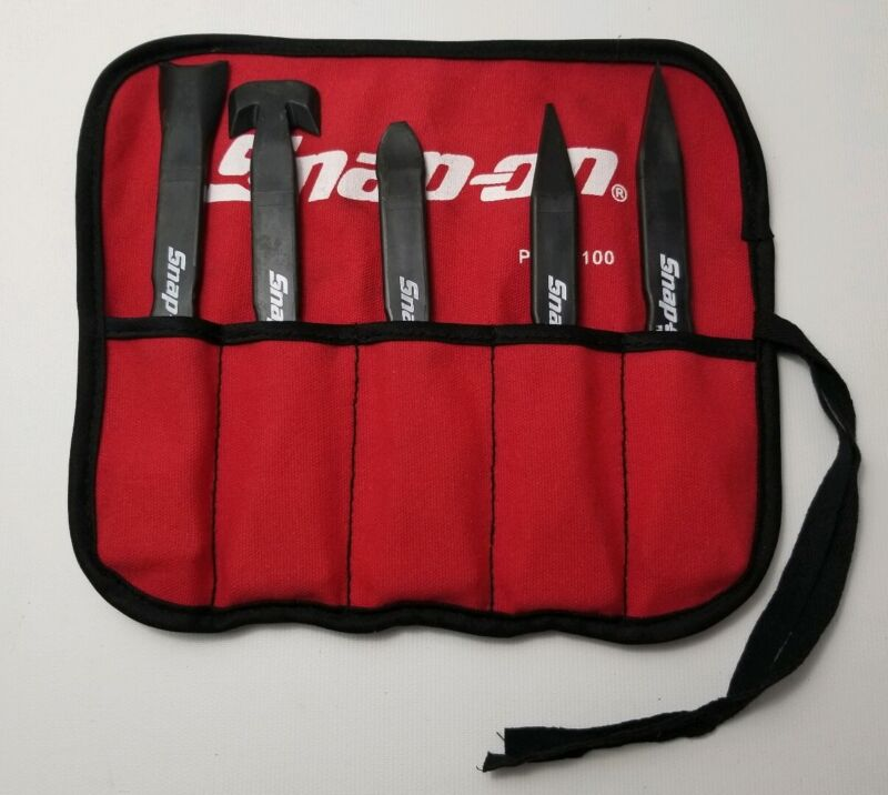 Snap On 5 Pc Non Marring Pry Tool Set Used Free Shipping