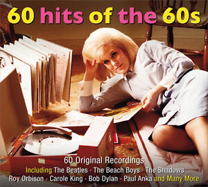 60-Hits-Of-The-60s-DIGIPAK-Beatles-BEACH-BOYS-Shadows-BOB-DYLAN-New-Sealed-3-CD