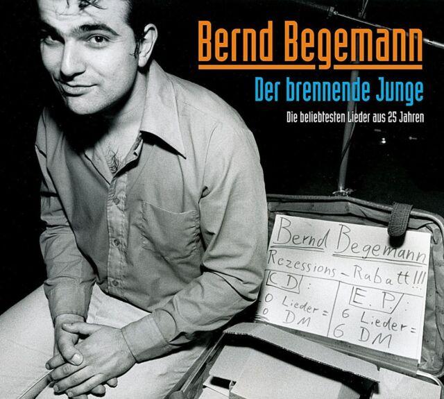 BERND BEGEMANN - DER BRENNENDE JUNGE  CD NEU