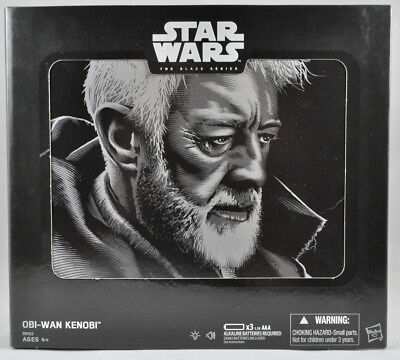 "SDCC 2016 HASBRO EXCLUSIVE STAR WARS BLACK SERIES 6"" (INCH) OBI-WAN KENOBI MIB"