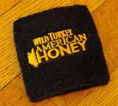 American Honey Whiskey - wild turkey american honey liquor promotional swag wristband whiskey aficionado