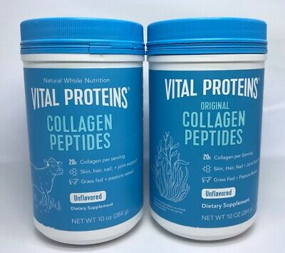 (2) Vital Proteins Collagen Peptides Unflavored 10oz/284g Best By (Best 10 Protein Powder)
