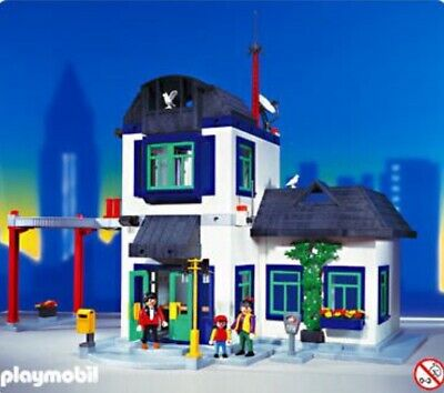 playmobil police station and jail 3988