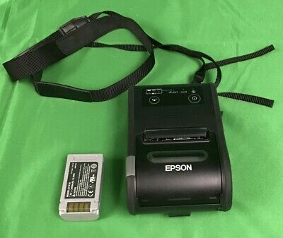 Epson Mobilink Wireless Mobile Printer Tm-p60ii Model M292a