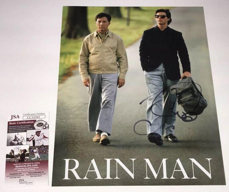 TOM CRUISE Signed 11X14 Rain Man IN PERSON Autograph Top Gun JSA COA