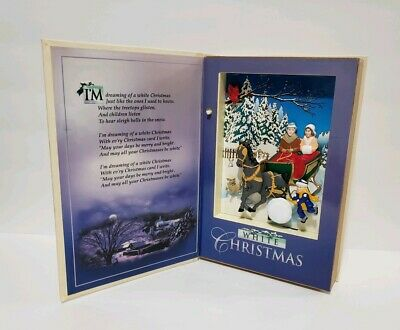 Clearance 2001 MR CHRISTMAS WHITE CHRISTMAS Irving Berlin HARDCOVER MUSICAL BOOK ()