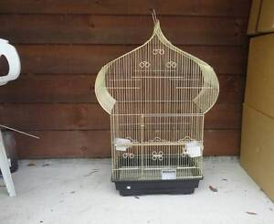 NEW BIG GOLD BIRD CAGE, NEVER USED Tamborine Ipswich South Preview
