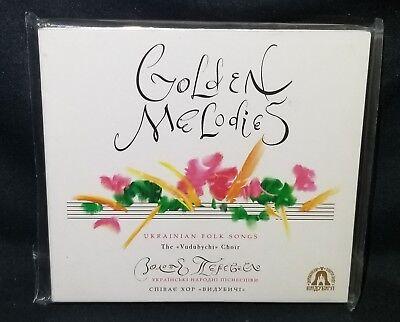 Golden Melodies Ukrainian Folk Songs Vydubychi Church Chorus CD, Import (Ukrainian Folk Songs)