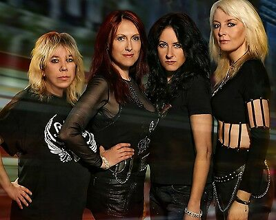 "Girlschool 10"" x 8"" Photograph no 3"
