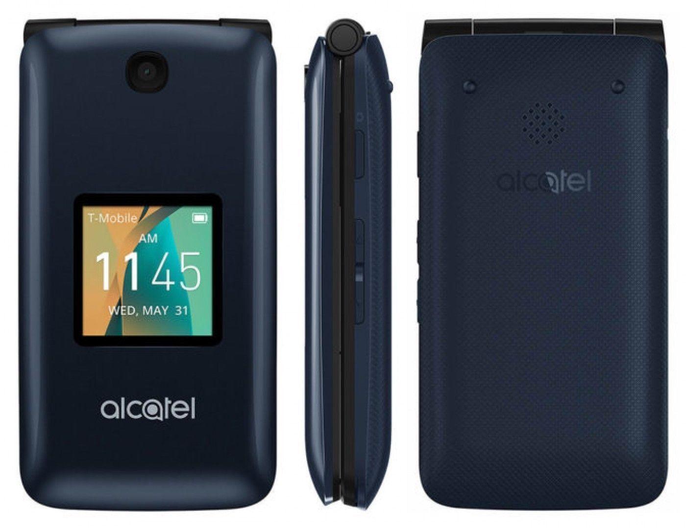 New GO FLIP  Flip Phone T-Mobile AT&T UNLOCKED GSM 4G LTE