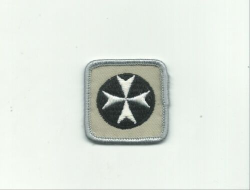 BJ SCOUT CANADA FIRST AID PROFICIENCY BADGE CANADIAN INSIGNIA GREY SILVER RE PB