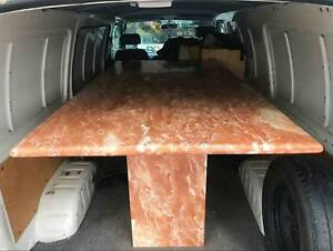 Hollywood Regency pink marble dining table