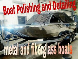Boat polishing and detailing ! Red deer