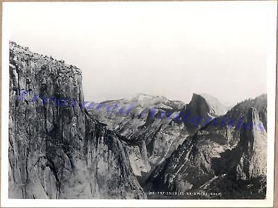 """1920 US Army Air Corps Yosemite Valley El Capitan Half Dome Aerial 9""""x7"""" Photo"""