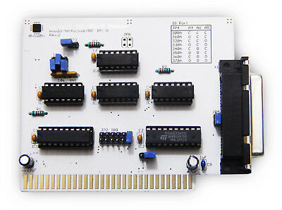 Assembled Tested & Working Lo-tech MIF IPC B for 8/16-Bit ISA!