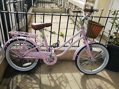Girls 18 inch bike pink