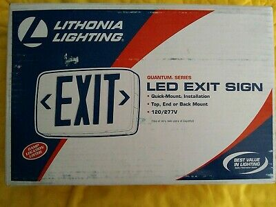 Lithonia Lighting Led Exit Sign 388073 New