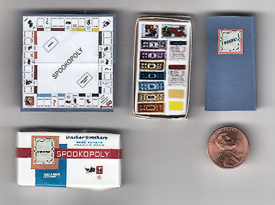 HALLOWEEN WITCH'S SPOOKOPOLY GAME