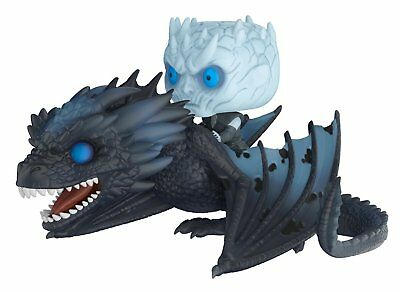 - Funko Pop! Rides: Game of Thrones - Night King On Dragon Collectible Figure #58