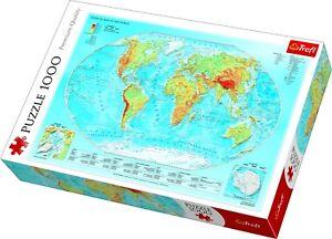 Map of The World Jigsaw | eBay