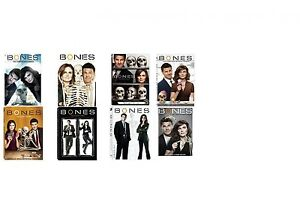 New Sealed! TV Bones Season 1 2 3 4 5 6 7 8 DVD 1 - 8