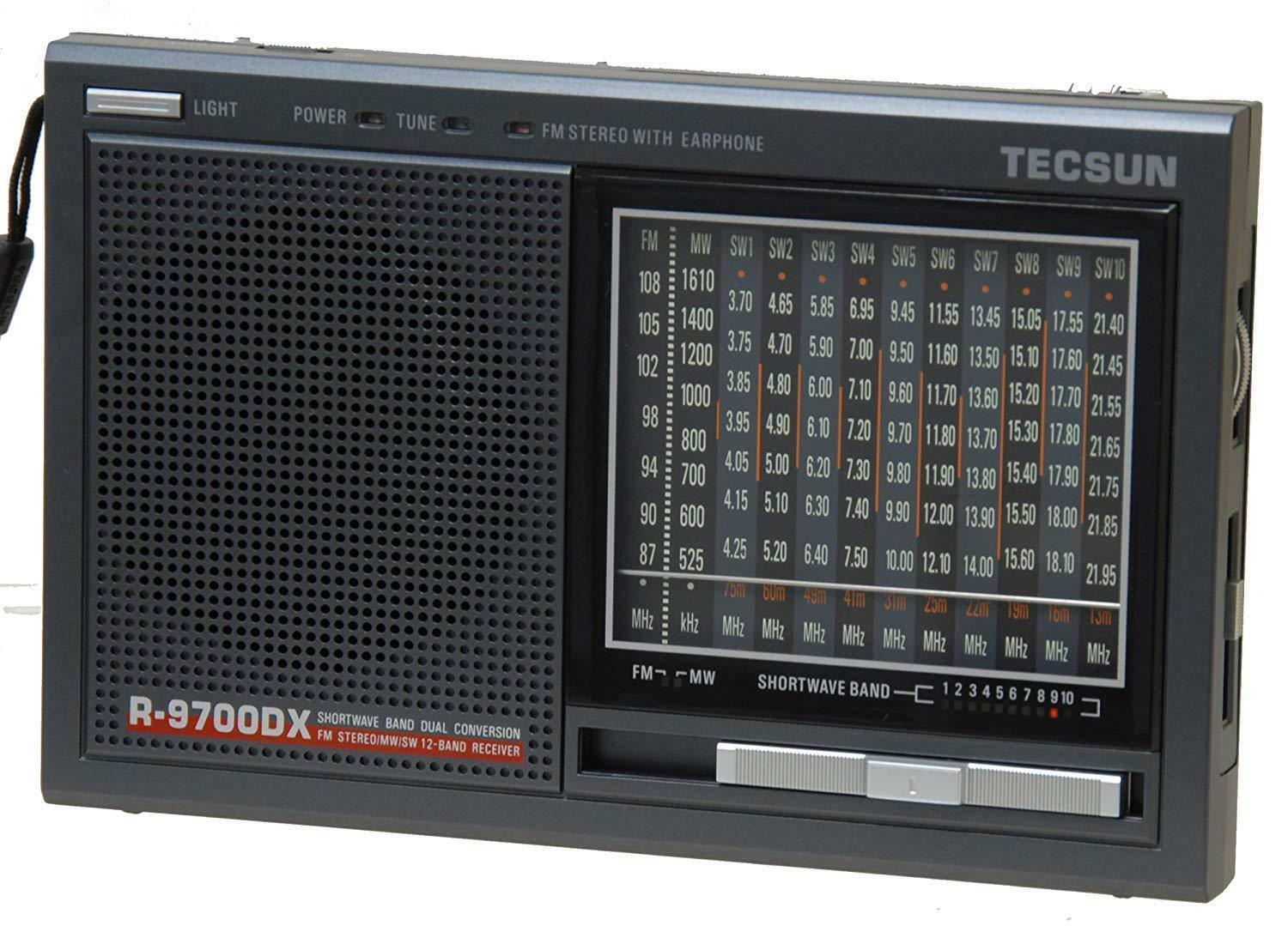 Tecsun R9700DX 12-Band Dual Conversion AM/FM Shortwave Radio