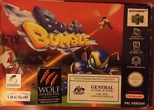 Buck Bumble N64 CIB PAL