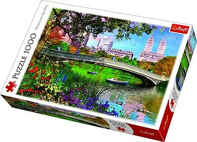 Trefl 1000 Piece Adult Large Central Park New York Manhattan Jigsaw Puzzle NEW