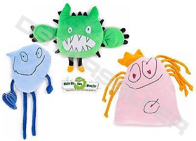 Make Your Own Monster Brand Stuffed Animal Plush Monster Toys BLUE or GREEN