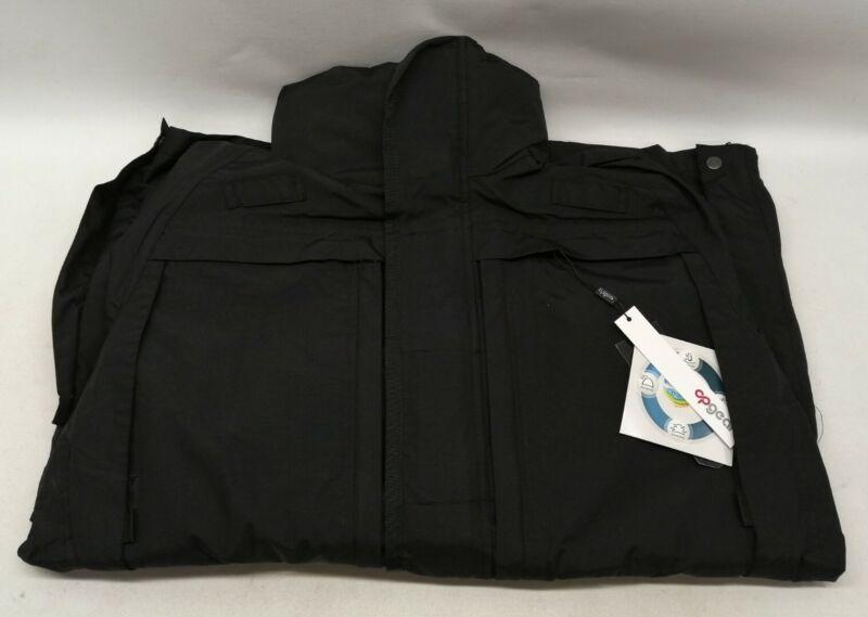 Ex Prison Service OP Gear Jacket Black Windproof Hiking Camping Snow Rain Coat