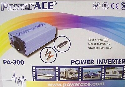 Inverter Electricity Voltage 300W 600W 12V 230V motorhome boat caravan car
