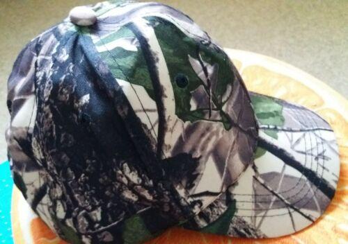 Trees and Leaves BaseballCap Hunting Camo Cap Größe universal verstellbar NEW !