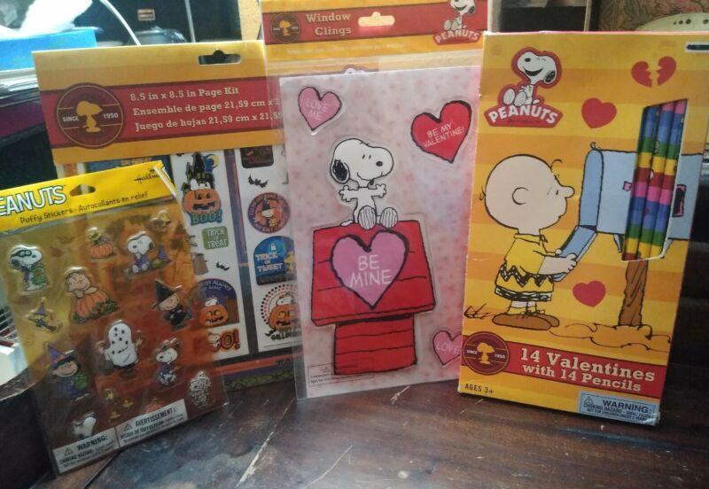 Peanuts Halloween /Valentine