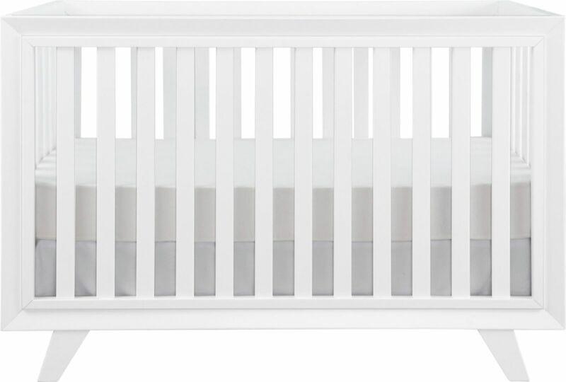 Karla Dubois - Wooster Convertible Crib - Pure White