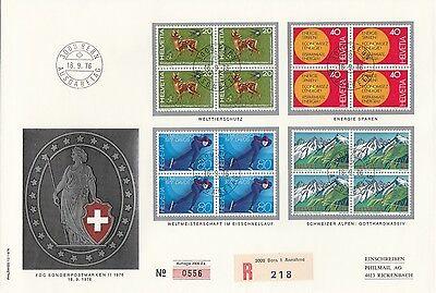 Ersttagsbrief Schweiz von 1976. Weltweit nur 2000 Exemplare.