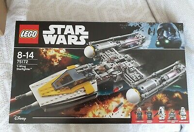 LEGO New Star Wars Y-Wing Starfighter 75172. Stored well
