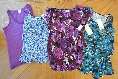 Maternity Clothes Lot Size Large Summer Tops $138 Oh Baby Motherhood L