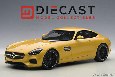 (AUTOART 76314 MERCEDES-AMG GT S (YELLOW) 1:18TH SCALE)