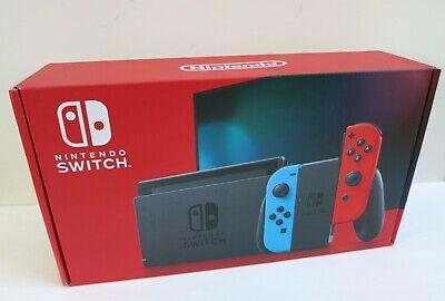 Nintendo - Switch 32GB Console - Neon Red/Neon Blue Joy-Con, Brand New, Sealed