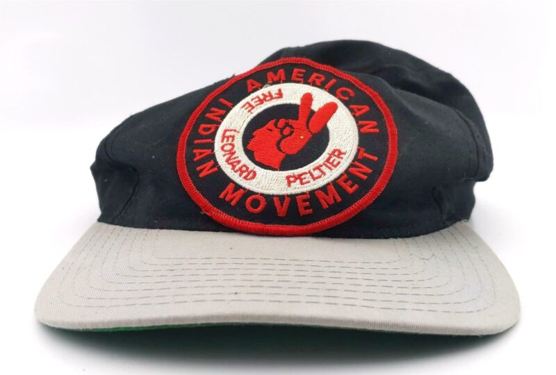 Free Leonard Peltier American Indian Movement Baseball Hat Cap Lid Snapback