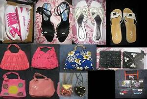 New Used Ladies Womans Kids Shoes Handbags Wallets Coin Purses - Forrestdale Armadale Area Preview